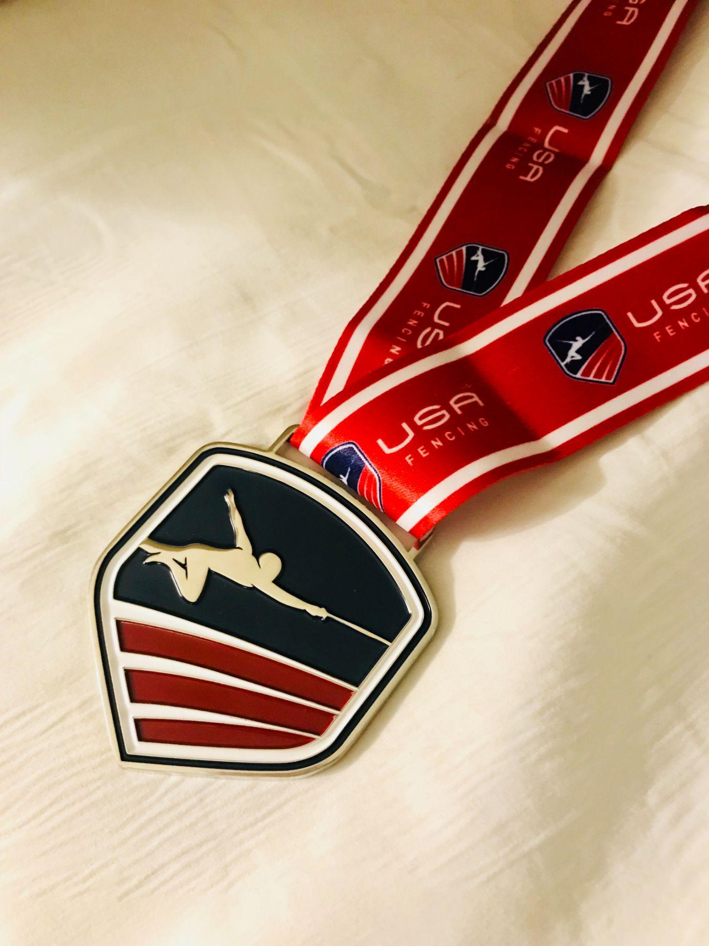 USFA medal