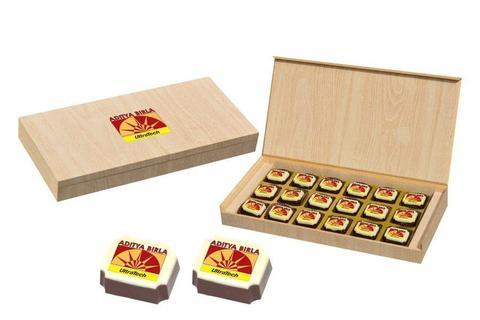 Executive Gifts - 18 Chocolate Box - Printed Candies (10 Boxes)