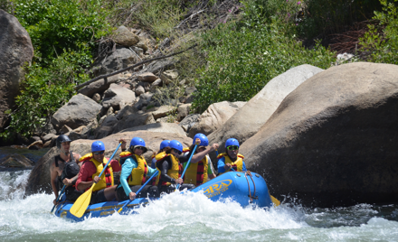 Tour- La Canada to Kernville w/ river rafting