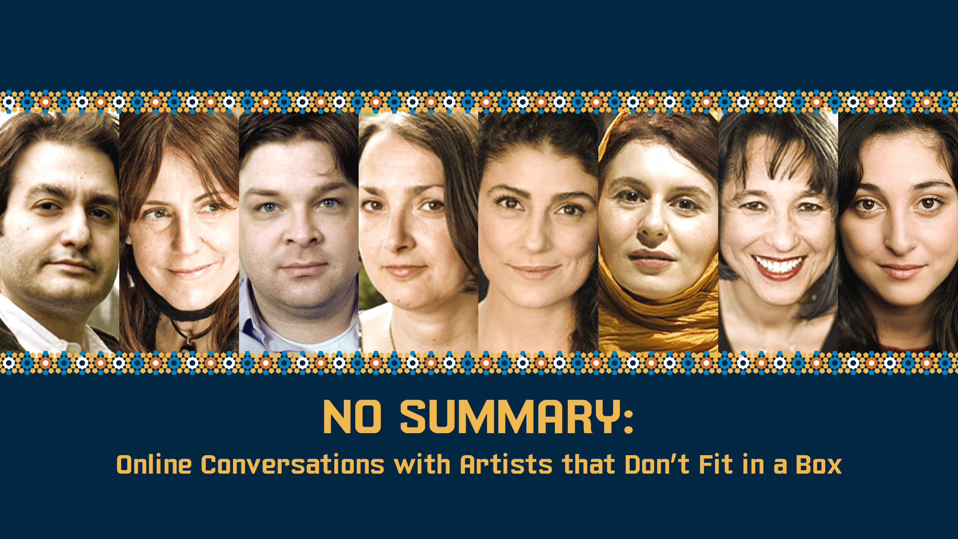 No Summary: Conversations with Artists that Don't Fit in a Box!