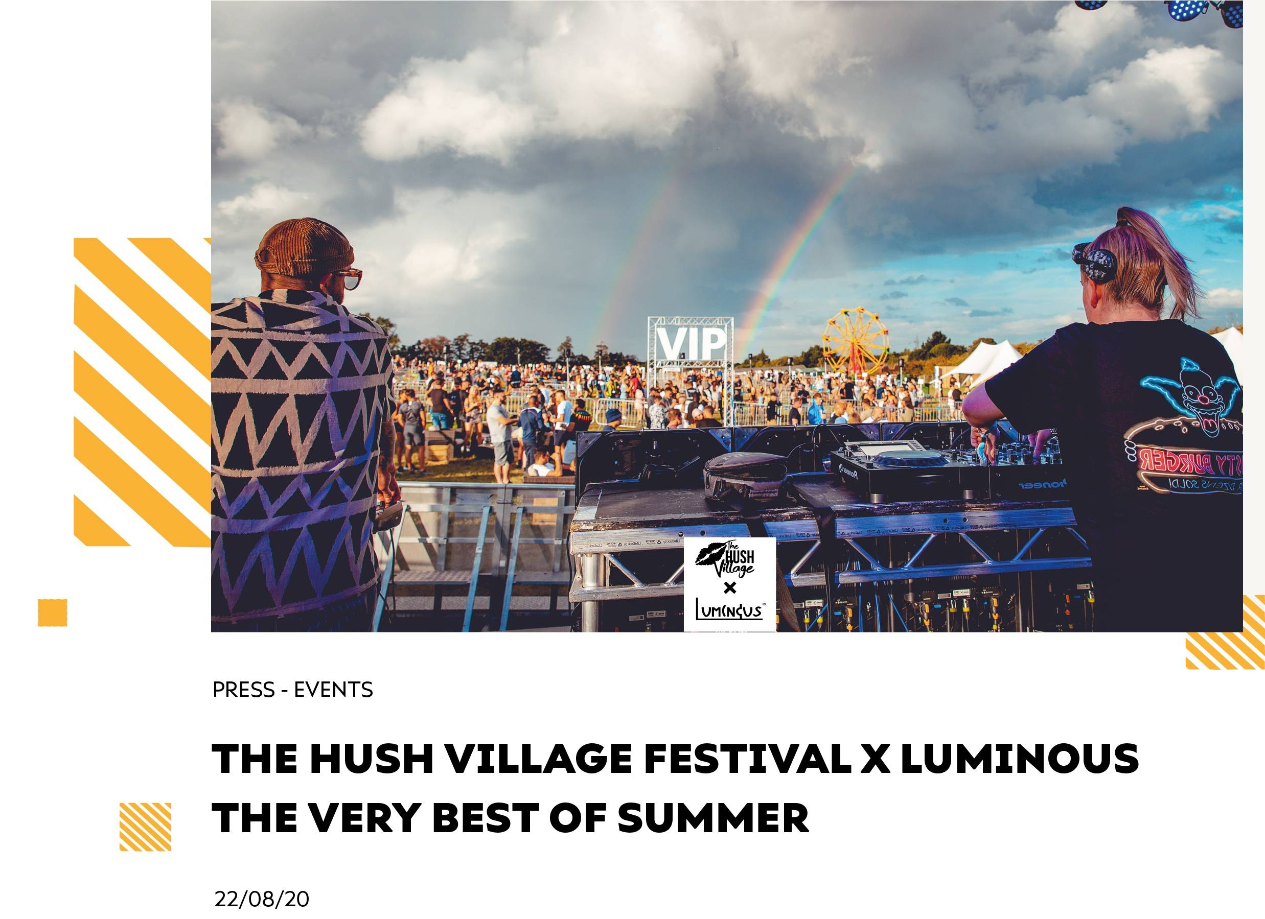 The Hush Village Festival x Luminous - The Very Best of Summer