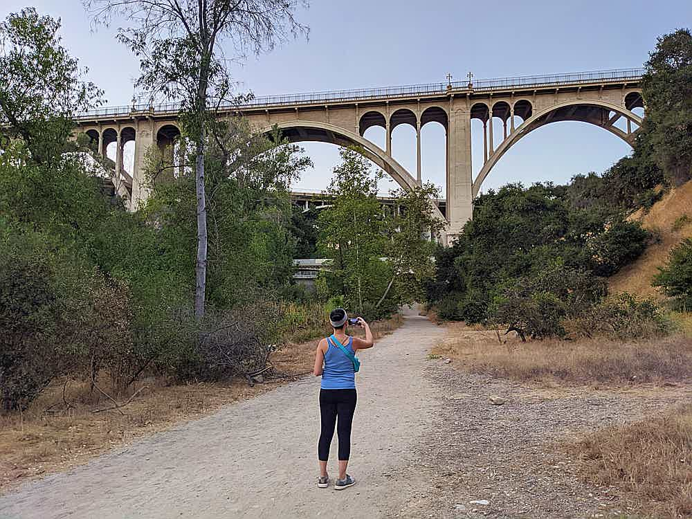 Hike to Colorado Bridge in Pasadena