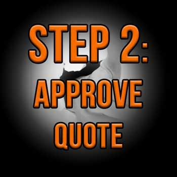 Step 2: Approve Quote