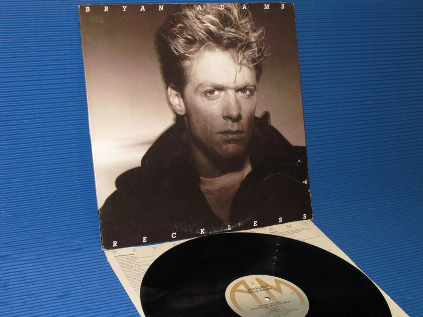 "BRYAN ADAMS -  - ""Reckless"" -  A&M 1984"