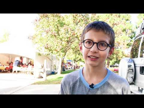 10-year-old promotes Stone Belt's Hand in Hand food collection program