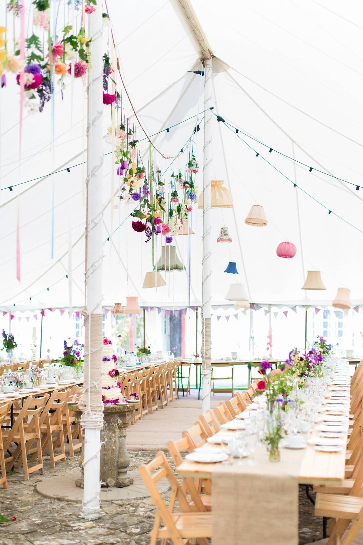 Lampshade Wedding Decor: 40 Unique Examples That Will Grab Your ...
