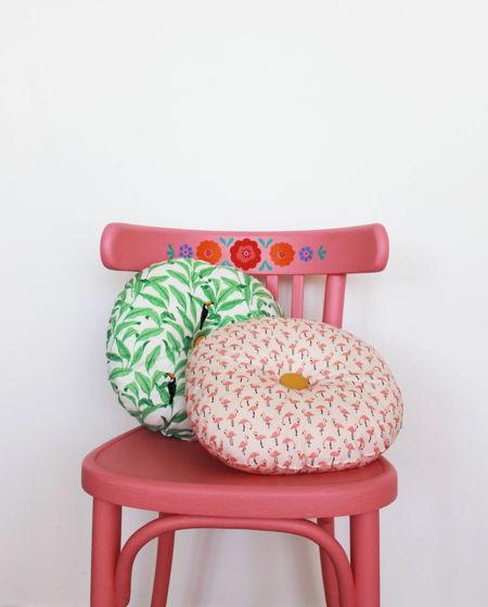 Детская декоративная подушка в двух цветах