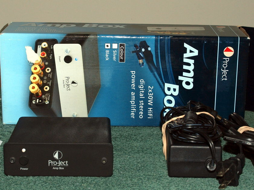 Pro-ject Amp Box Stereo digital amplifier