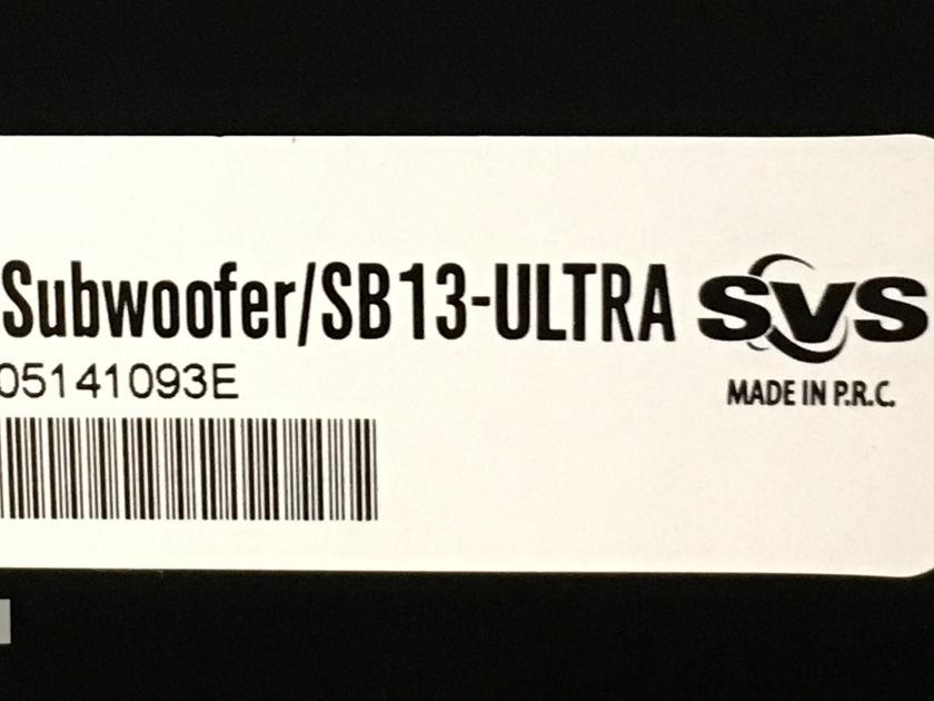SVS SB13 Ultra 1000 Watt Sealed Subwoofer