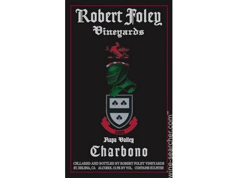 Robert FoleyVineyards Charbono 2014 - WE 90