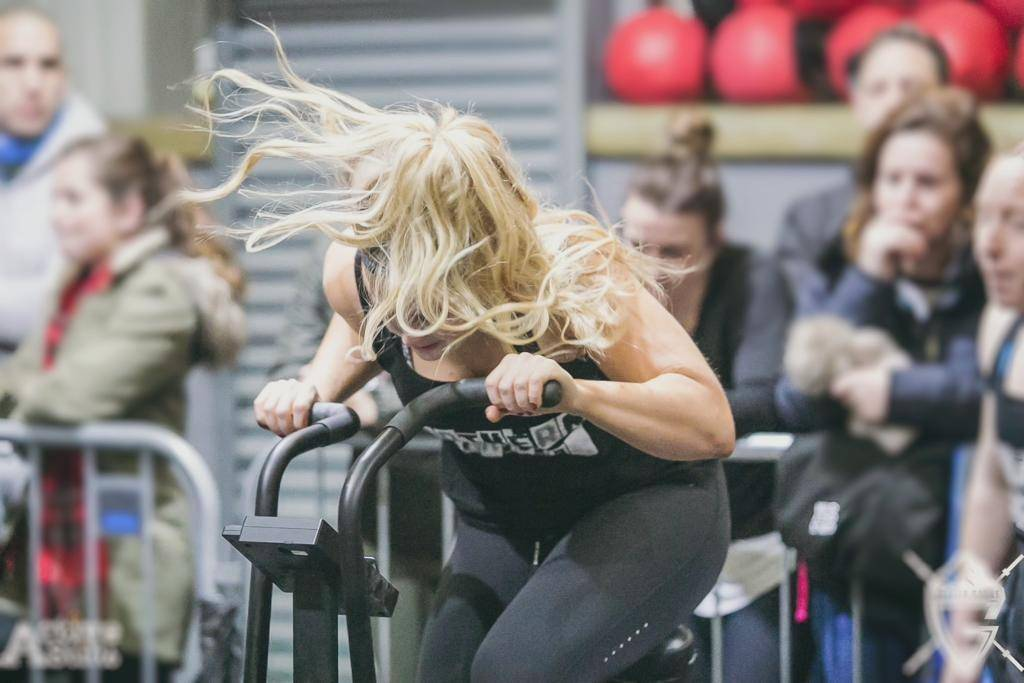 Image of abi working out