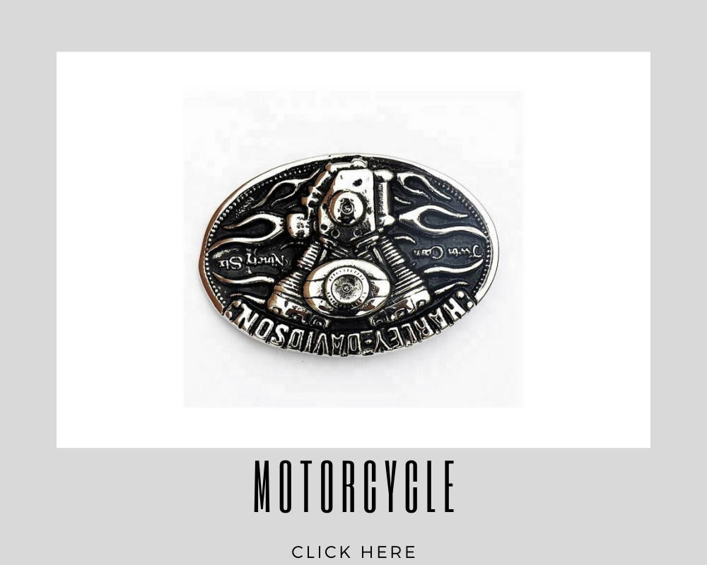 Corporate Custom Motorcycle Belt Buckles