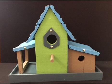 Double Door Bird House