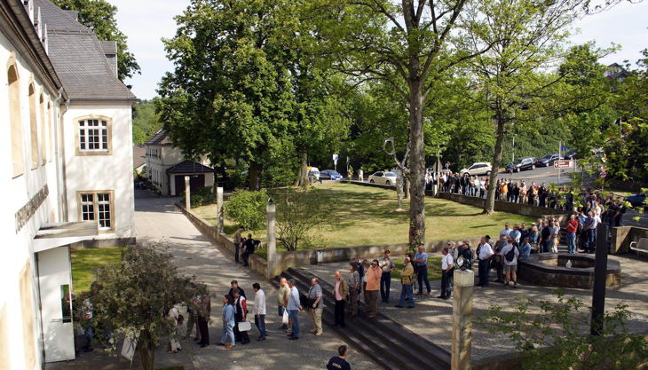 deutsches klingenmuseum eingang warteschlange