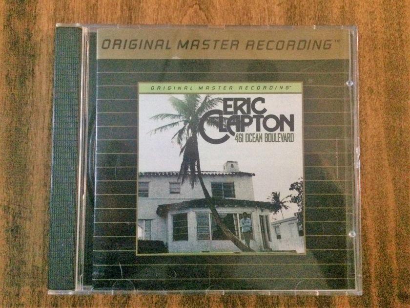 """Eric Clapton - """"461 Ocean Boulevard"""" - Mobile Fidelity MFSL UDCD 594 24 Karat Gold CD"""