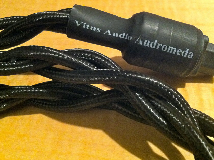 Vitus Audio Andromeda Power Chord 2Meters 15amp USA termination