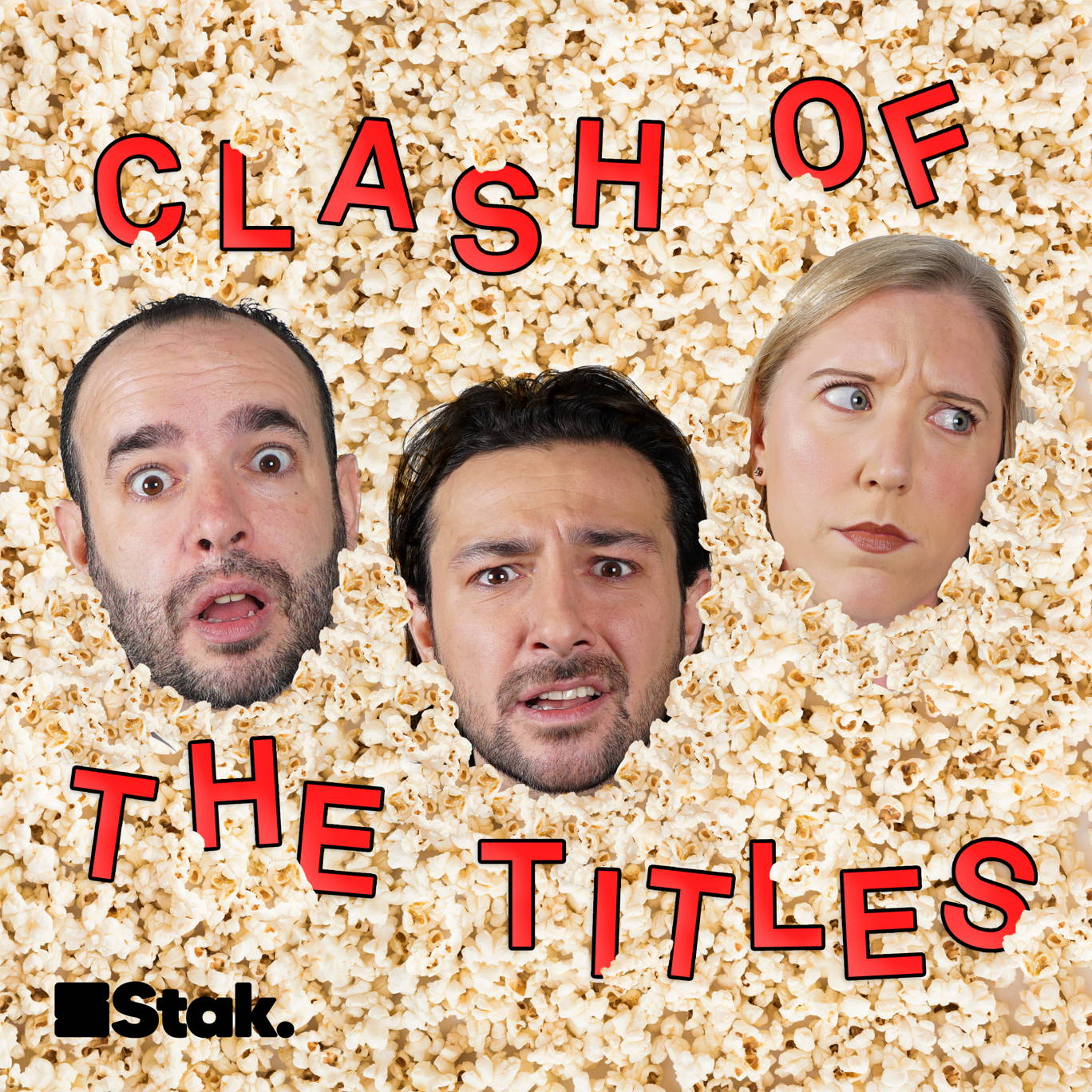 The artwork for the Clash Of The Titles podcast.
