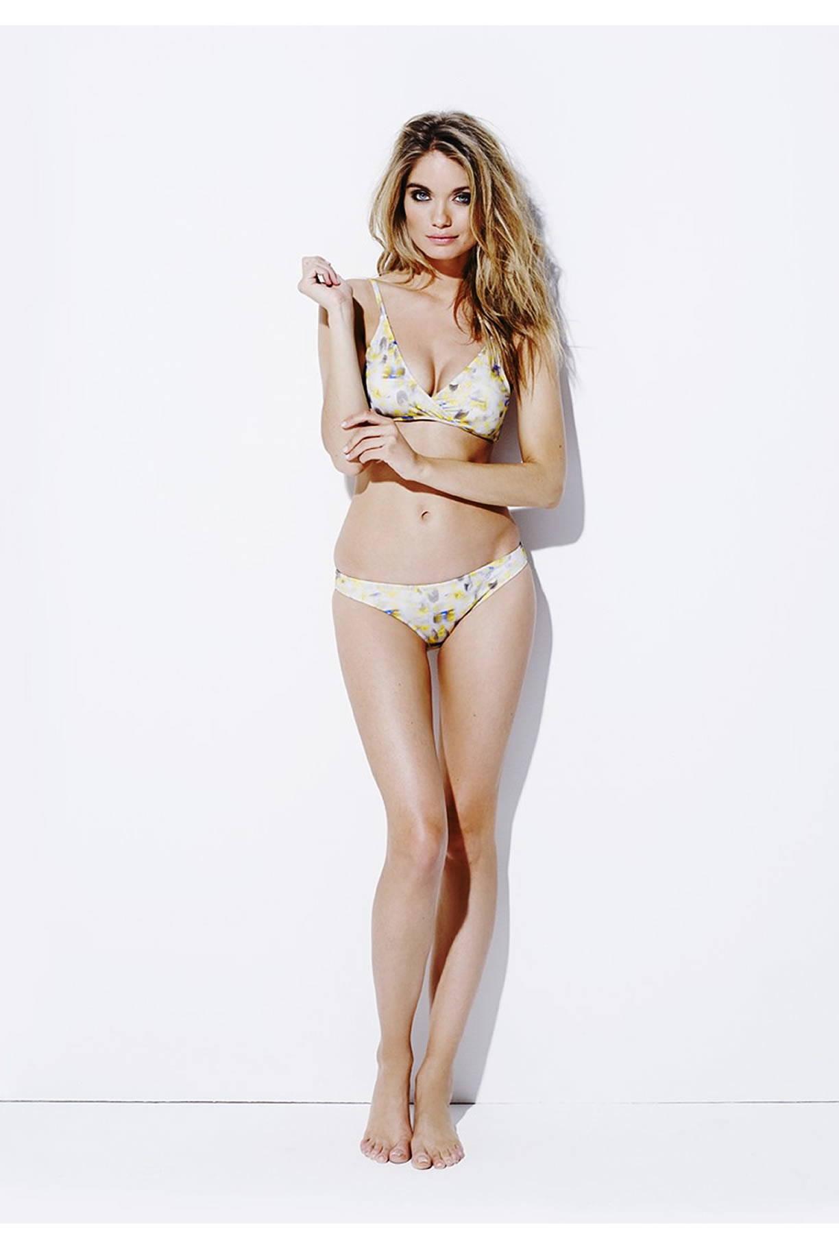 Varley Anthea Yellow Bikini
