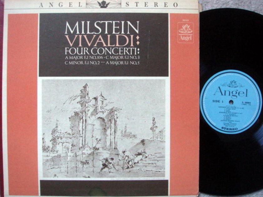 EMI Angel Blue / MILSTEIN, - Vivaldi 4 Violin Concertos, NM!