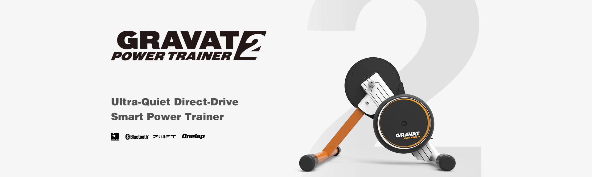 ultra-quiet direct-drive smart power trainer