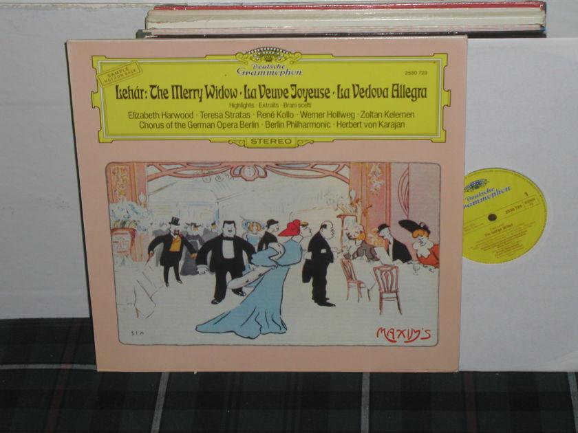 Von Karajan/BPO - Lehar DG German import LP
