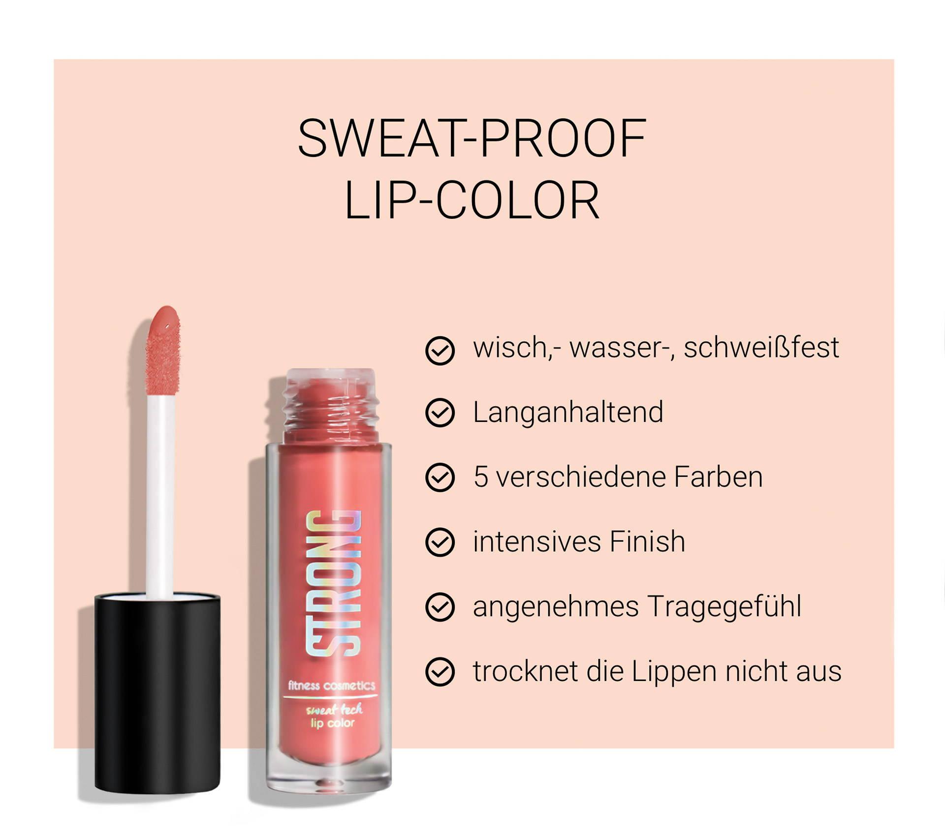 Lip Color mit Text