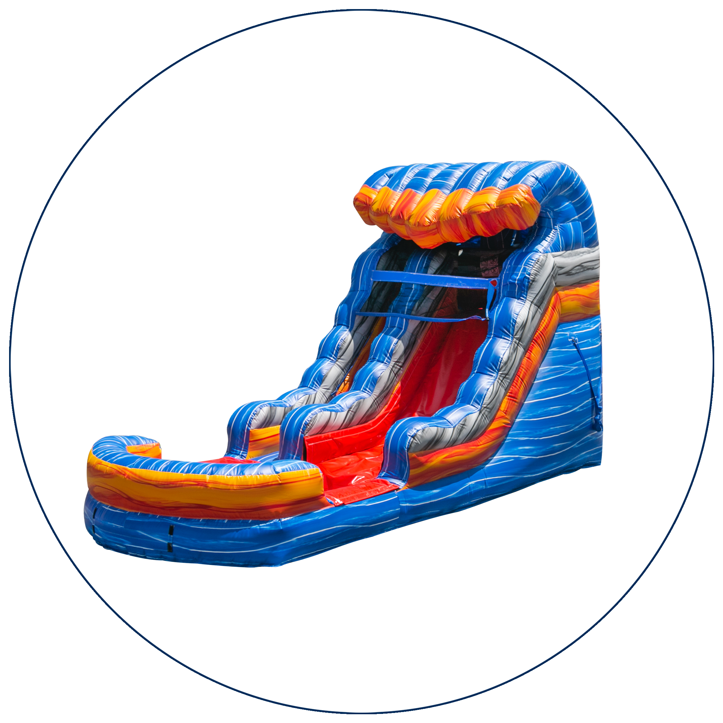13 - 16 Ft. Water Slides