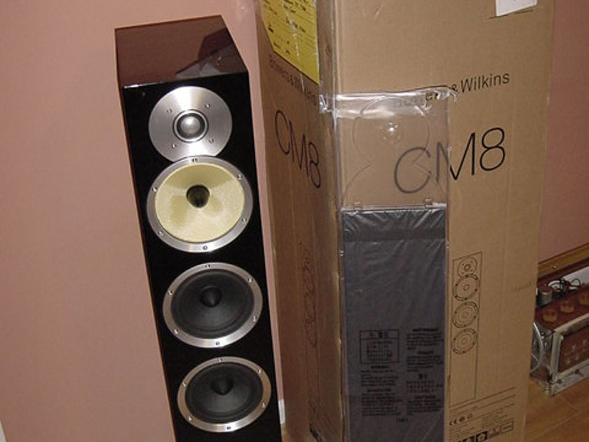 BOWERS&WILKINS CM8 ONE GLOSS BLACK CM8GB NEVER USED
