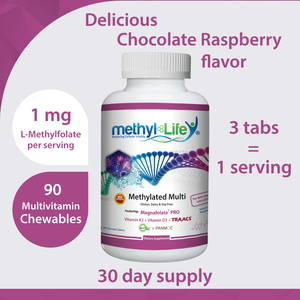 1 mg L-Methylfolate Supplement