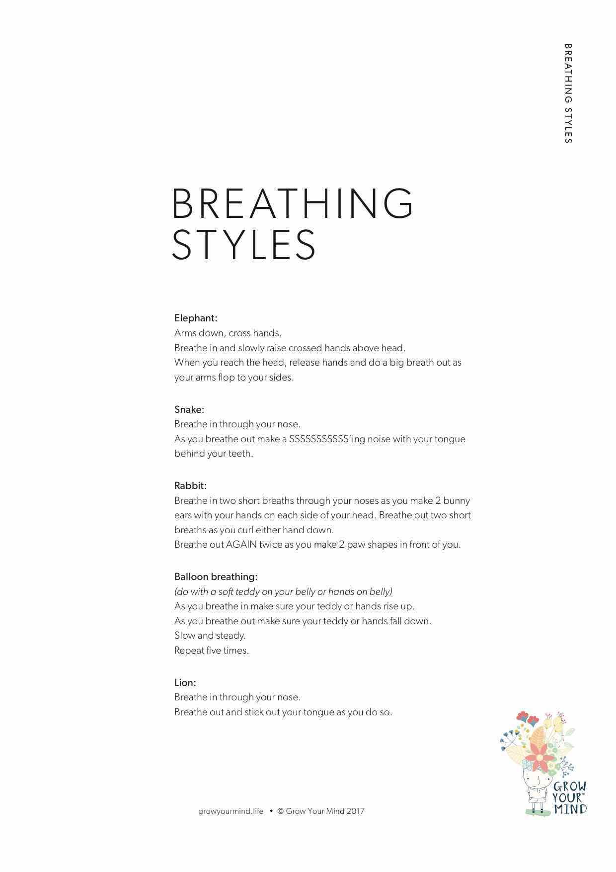 Breathing Styles