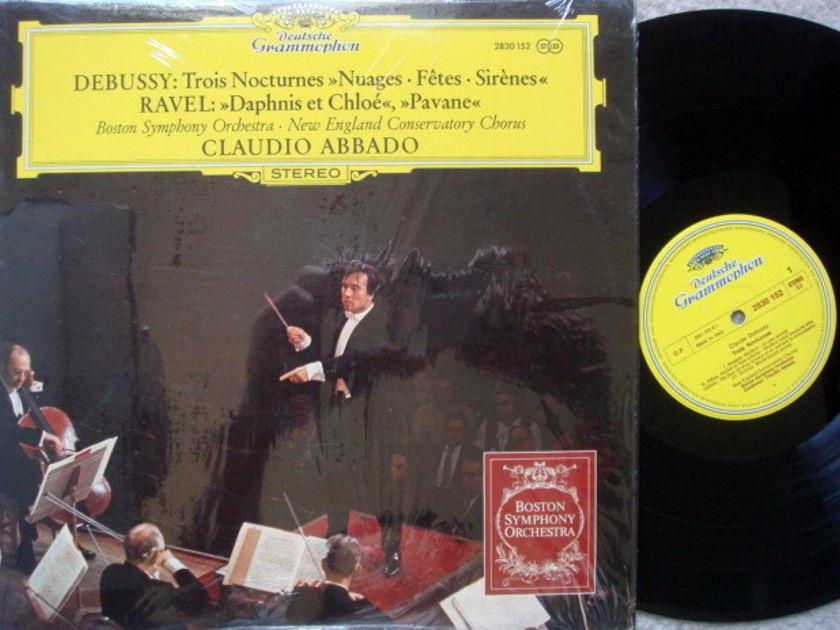 DG / Debussy Trios Nocturnes, - ABBADO/BSO, MINT!