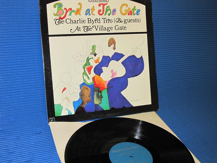 "CHARLIE BYRD TRIO - - ""Byrd at The Gate"" - Riverside 1963 mono"