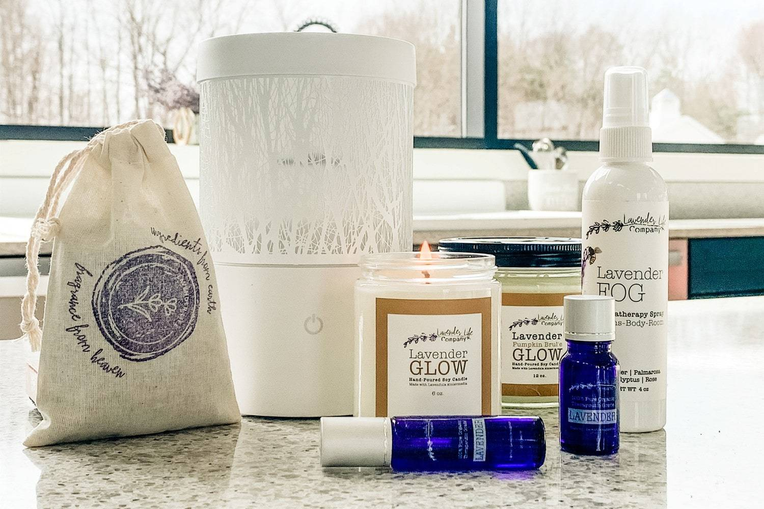 Lavender Aromatherapy Oils, Candles, Mist and More - Lavender-Life.com