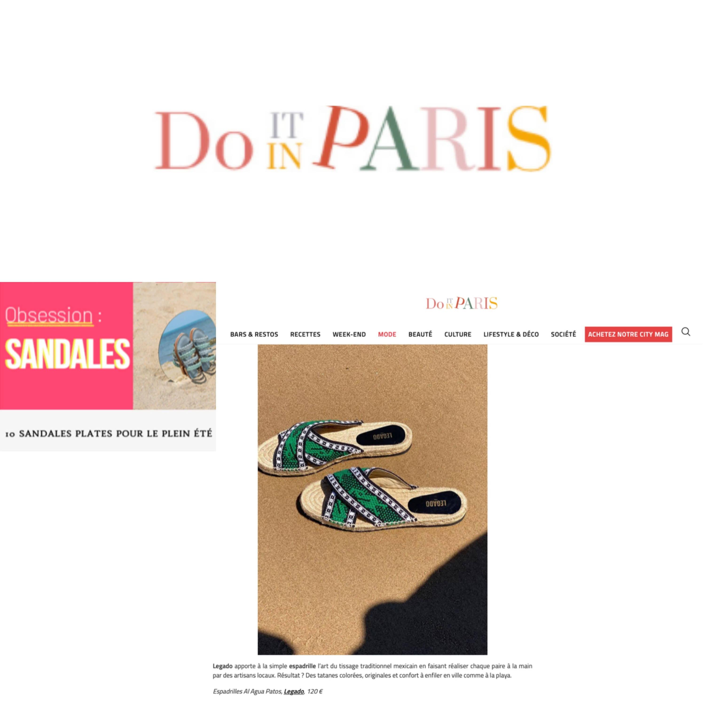 Legado dans do it in Paris