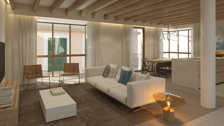 Palma - Newly-built apartment in the city centre of Palma