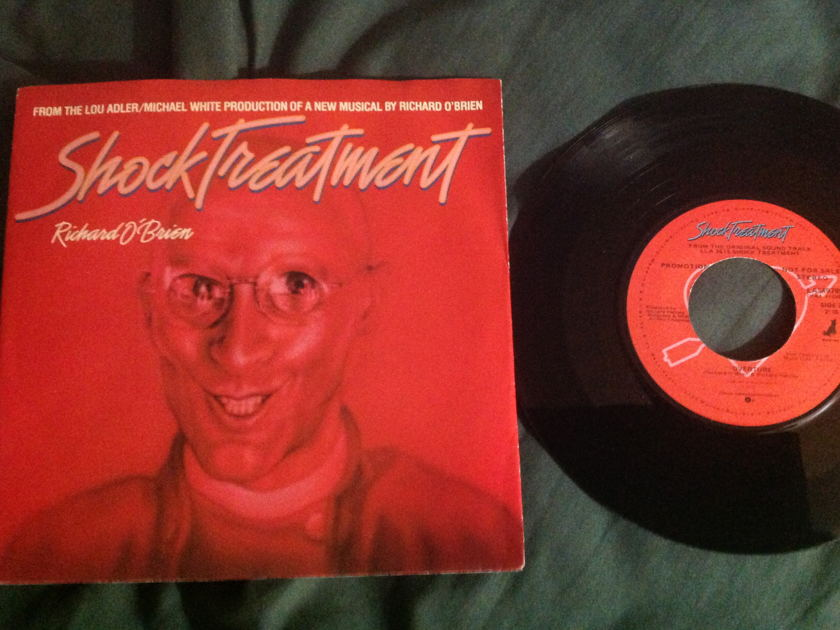 Richard O'Brien - Shock Treatment Promo 45 With Sleeve NM