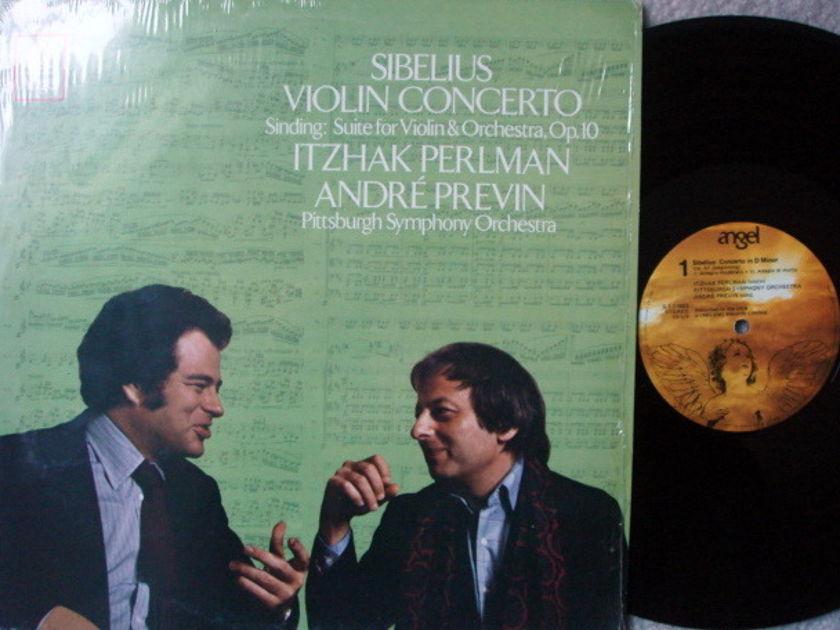 EMI Angel / PERLMAN-PREVIN, - Sibelius Violin Concerto,  MINT!