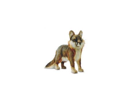 HANSA Life-like Stuffed Animal - Gray Fox