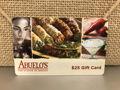 $25 Abuelo's Restaurant Gift Card