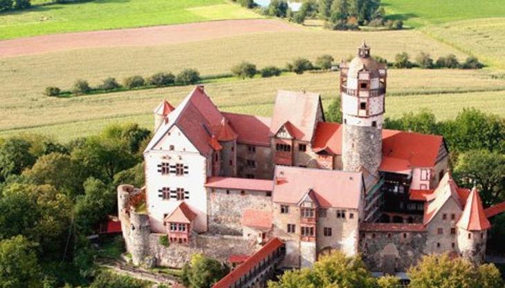 burg ronneburg panorama view ost