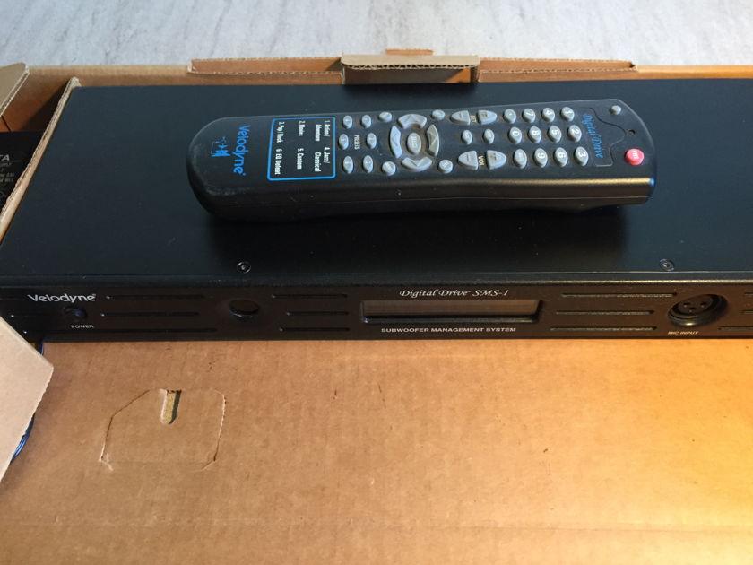 Velodyne SMS-1 Room correction system