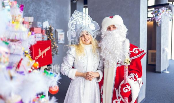 Новогоднее шоу и праздничная программа (день)