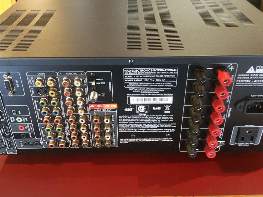 NAD T757 Surround Sound Receiver