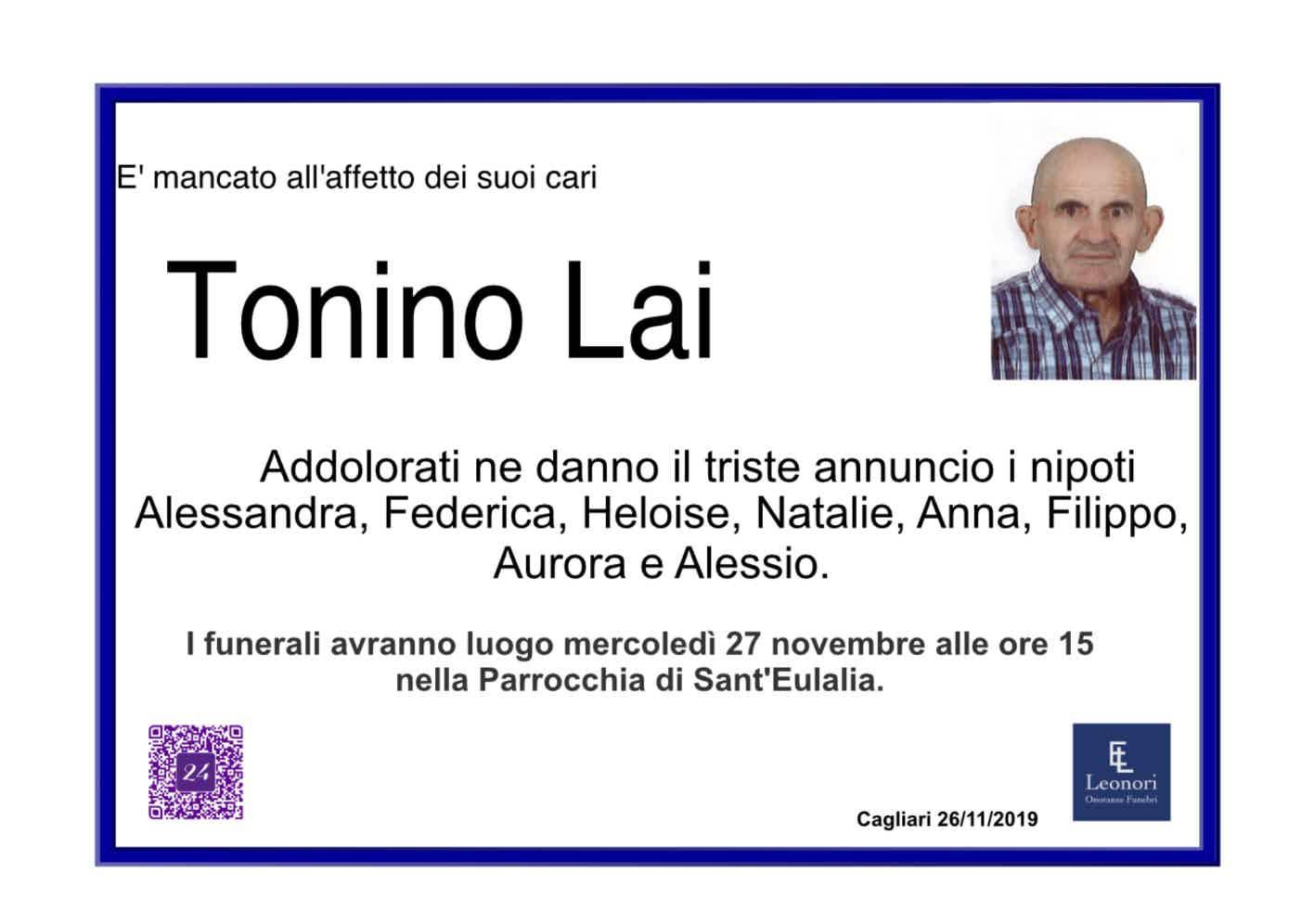 Tonino Lai