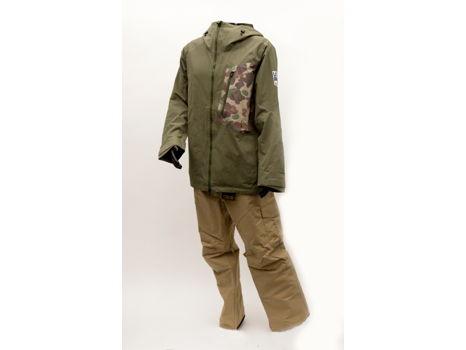 Men's U.S. Ski & Snowboard Logo'd outerwear by Burton, Jacket M, Pant L