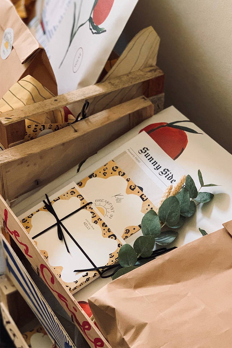 Breakfast in Bed Gift Boxes
