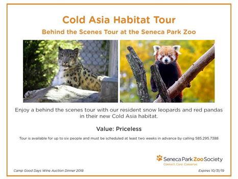 Cold Asia Habitat Tour