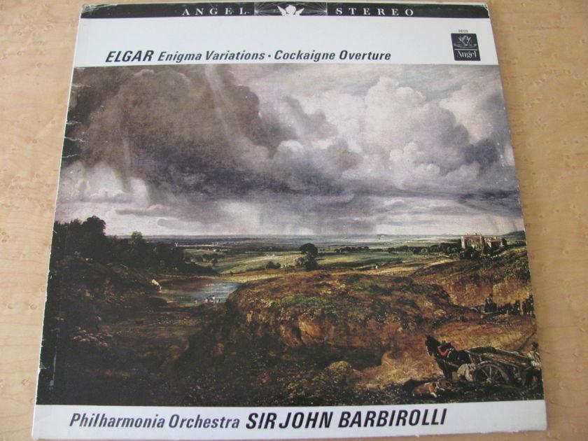 Elgar: Enigma Variations-Cockaigne Overture,  - Angel Records, Sir John Barbirolli,  Philharmonia Orchestra, NM