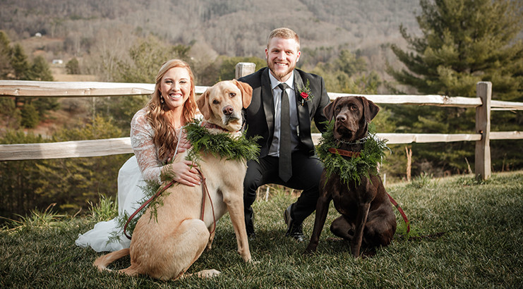 Tips for Including Your Dog in Engagement Photos