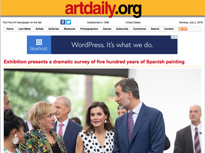 Art Daily, Spain, Royalty